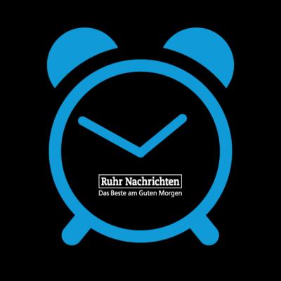 Png-Grafik blauer Wecker | schwarzer Hintergrund